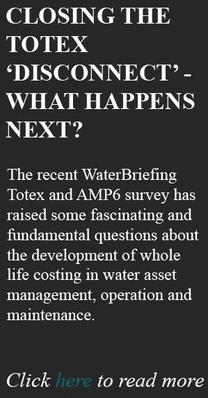 Waterbriefing Banner Totex survey