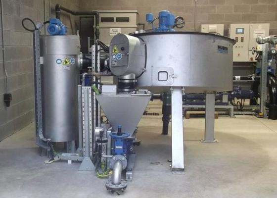 Huber disc thickener